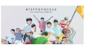 06 / BTS PNG PACK 03 by NWE0408
