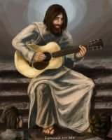 Acoustic Christ by BenjaminGalley