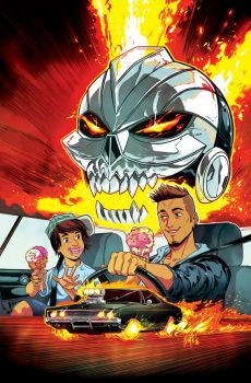 Ghost Rider #1 Cover (Variant) 2016 by FelipeSmith