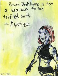 Mystique by SteeKira