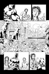 Black Panther: Soul of a Machine #2 - Page 6 by adr-ben