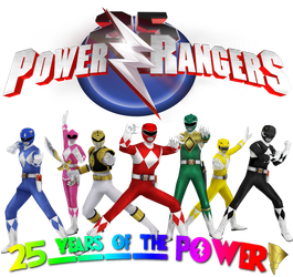 25 Years of the POWER!! by Spinosaurusking875