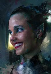 Colour and Light Study - Shannara Chronicles by AaronGriffinArt