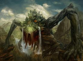 MtG: Animar, Soul of Elements by PeteMohrbacher