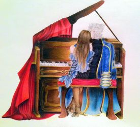 Piano Lessons by Amethyst-Phoenixx