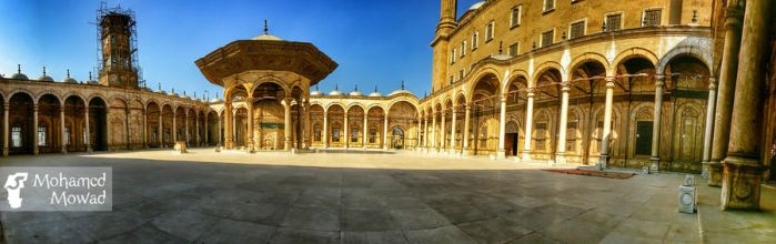 Mohamed Ali mosque by Mohamed-Mowad