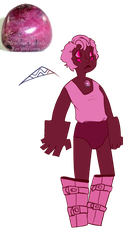 GEMSONA Rhodonite by SmasherlovesBunny500