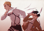 Levi, you piss me off by sushi-shi