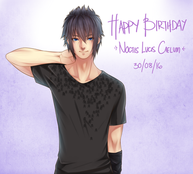 FF15: HBD Prince Noctis by Aeruko