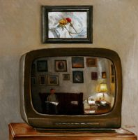 The Artist In His TV by hank1