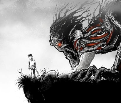 A Monster Calls by hobzart