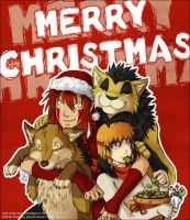 Merry Christmas from Tenaga Comics! by Tenaga