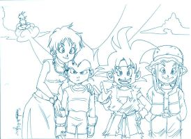 DBGT 100 years later by Sandra-delaIglesia