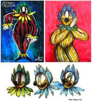 More Clowns by Inprismed