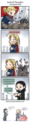 Thor 2 - God of Thunder: Greatest Hits by caycowa