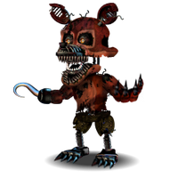 Nightmare Foxy Accurate V2 by YinyangGio1987