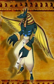 Original Anubis Art by Souzi80
