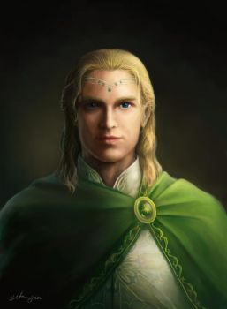 Glorfindel of the House of the Golden Flower by Tatyafinwe