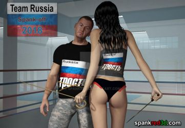International Spank-off Team Russia by SpankRed