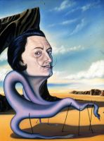 Portrait of Salvador Dali by EyrieStudios