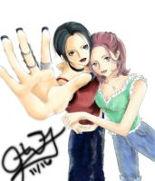 Nana and Hachi by blackXXraine