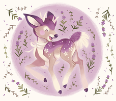 Lavendeer by spottedfawns