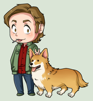 SPN Dogs #05 by NessaSan