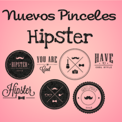 Nuevos Brushes Hipsters :3 by AnnaTutorials