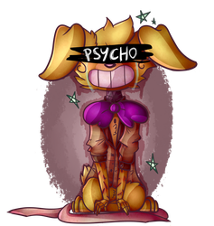Pretty little psycho [give criticism plz !] by FluffyPaw0306