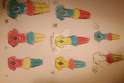 Clothing color scheme for LiaAquila's Oc! :D by i7434r7157