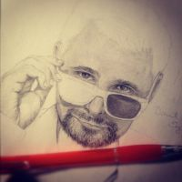 Matt Bellamy WIP by Keishd