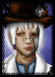 The Clockwork Man - Colour by TheBlindProphetess
