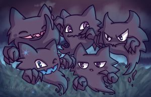 Haunters, Haunters Everywhere {pts} by CoffeeVulture