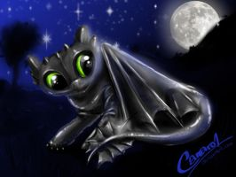 little toothless :3    failed :( by camaro1