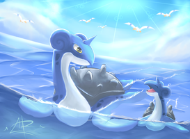 First Day On The Sea by Pringer-Dood