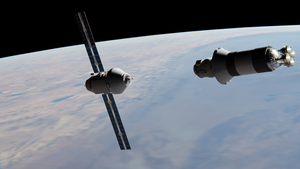 Parom Approaching Payload by brickmack