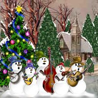 Snowman Band no Frame by RodneyzPc