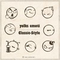 Scrapbooking- YOLKS EMOTI by Classic-Style