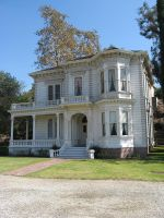 Victorian house white by SAPOMstockxtras