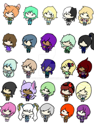 Free humanoid aopts #3 (7/25) (open) by Ameah1234