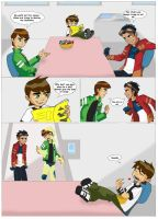 Generator Rex and Ben 10 by lostatsea101