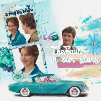 PNG Pack(238) The Fault in Our Stars by BeautyForeverr