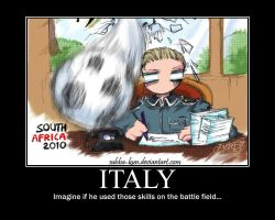 Italy Motivational Poster by Temarigirl1600