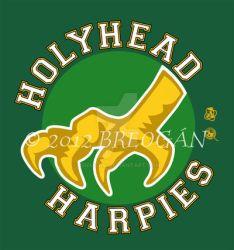 Holyhead Harpies Logo by Breogan