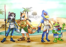 Chillin' at the Oasis by BlackLutis