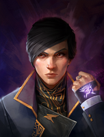 The Empress (Dishonored 2) by AndWhatArt
