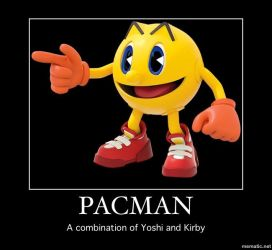 Pacman Motivational by Lesley-The-Devil