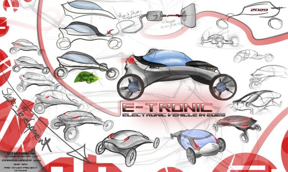E-TRONIC electric vehicle 2029 by ecco666