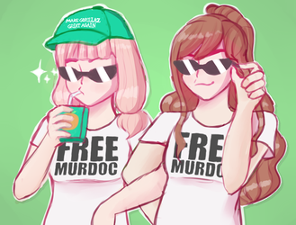 #FreeMurdoc by CookiieDream