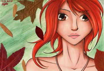 Falling Leaves by Elythe